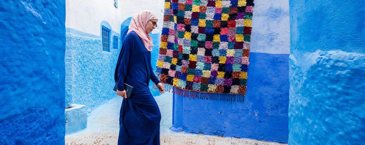 Cudowna wioska w Maroku.