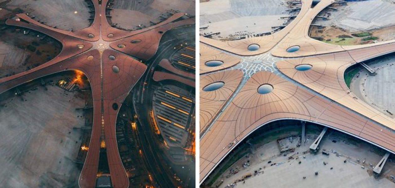 Pekin otwiera nowe lotnisko z największym na świecie terminalem, dachem o wielkości 25 boisk piłkarskich