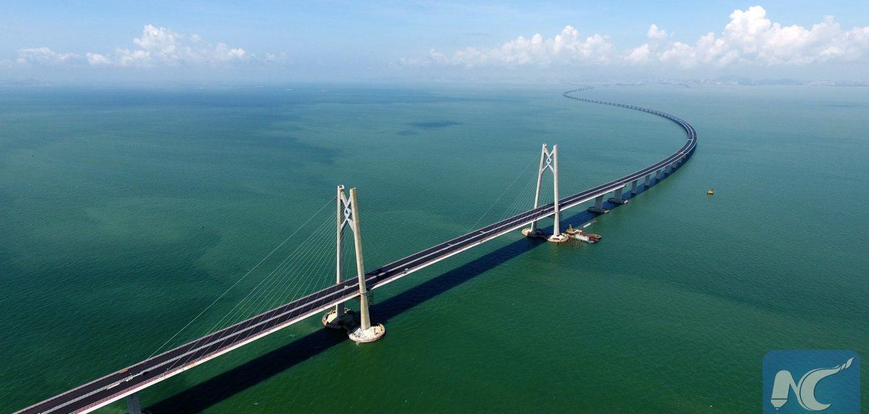Zobacz najdłuższy most świata. Ma 55 kilometrów długości!