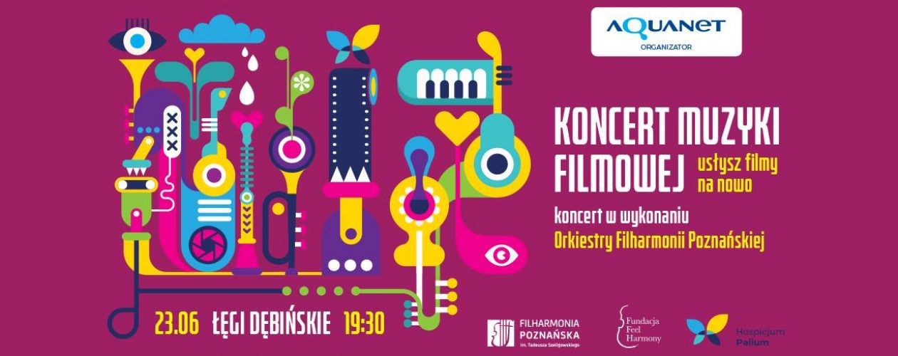 Orkiestra Filharmonii Poznańskiej zagra koncert muzyki filmowej!