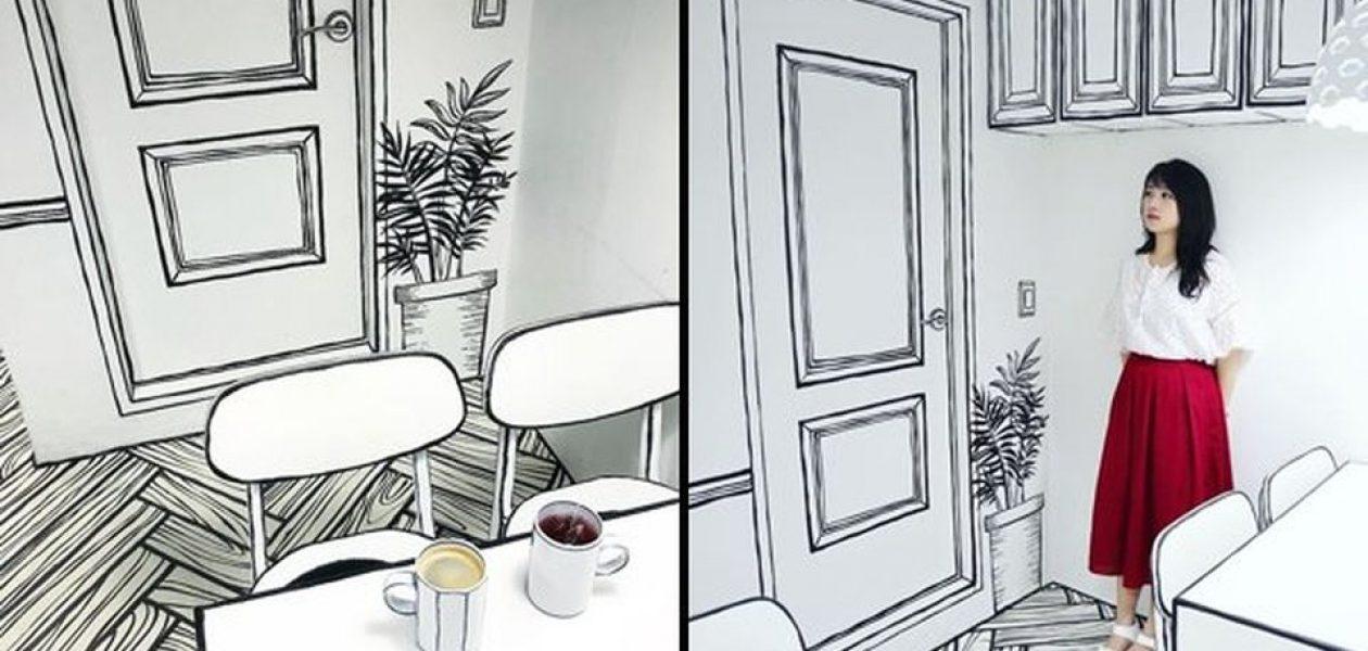 W tej kawiarni poczujesz się jak w świecie komiksu