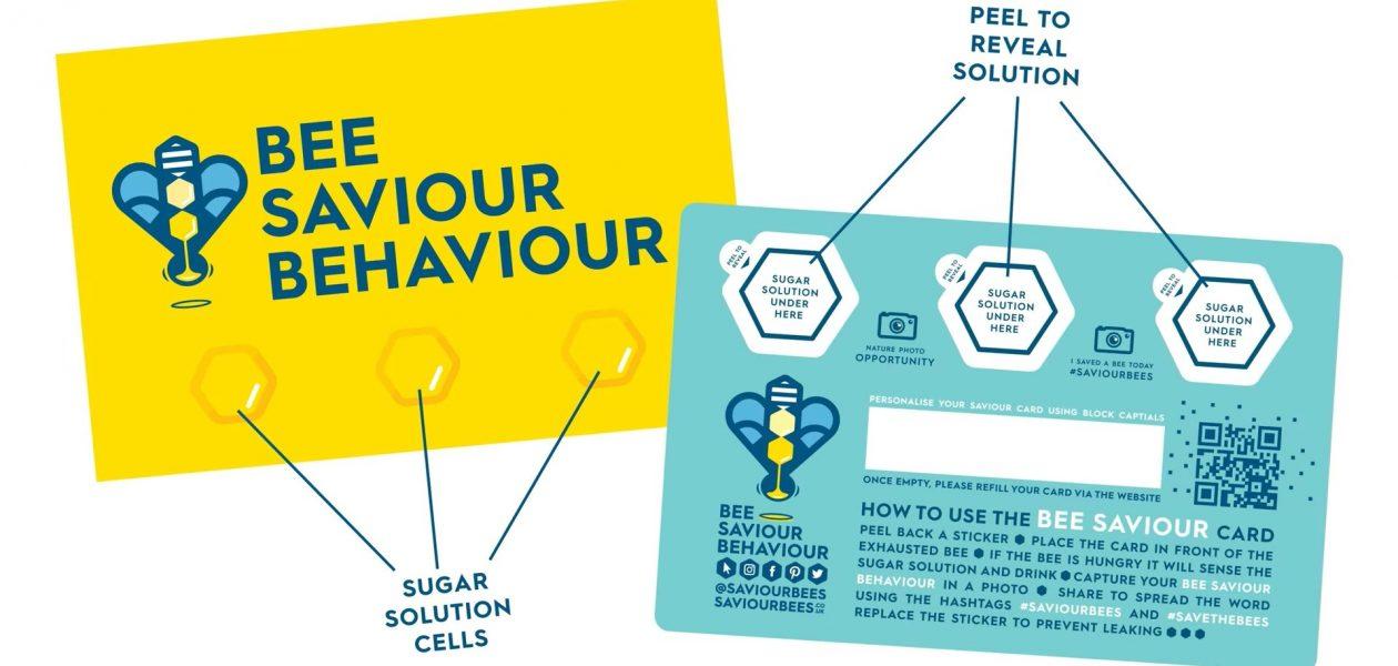 """""""Bee Savior"""" – karta, dzięki której uratujesz pszczoły."""