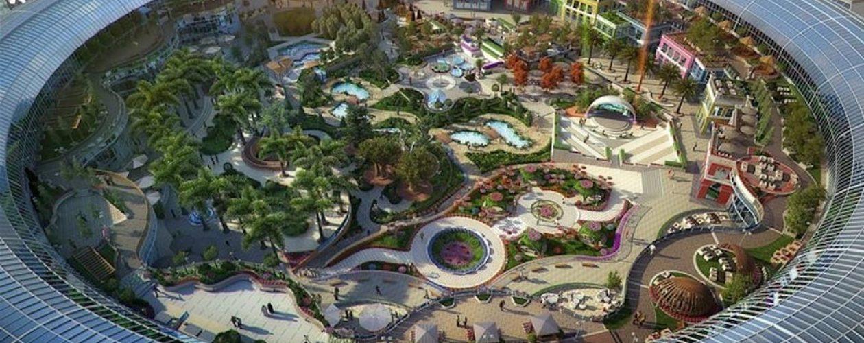 W Dubaju powstała galeria handlowa z ogromnym ogrodem botanicznym.