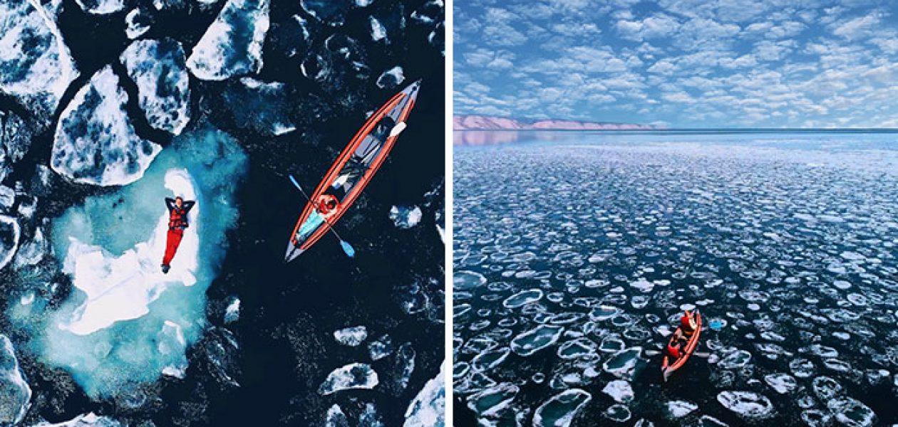 Zdjęcia ukazujące nieziemskie piękno najstarszego i najgłębszego jeziora świata