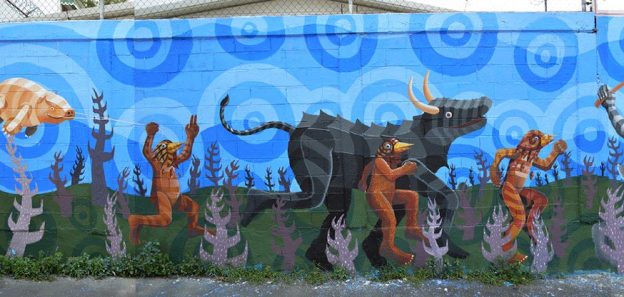 Najlepsze murale wykonane przez Raula Sisniega.