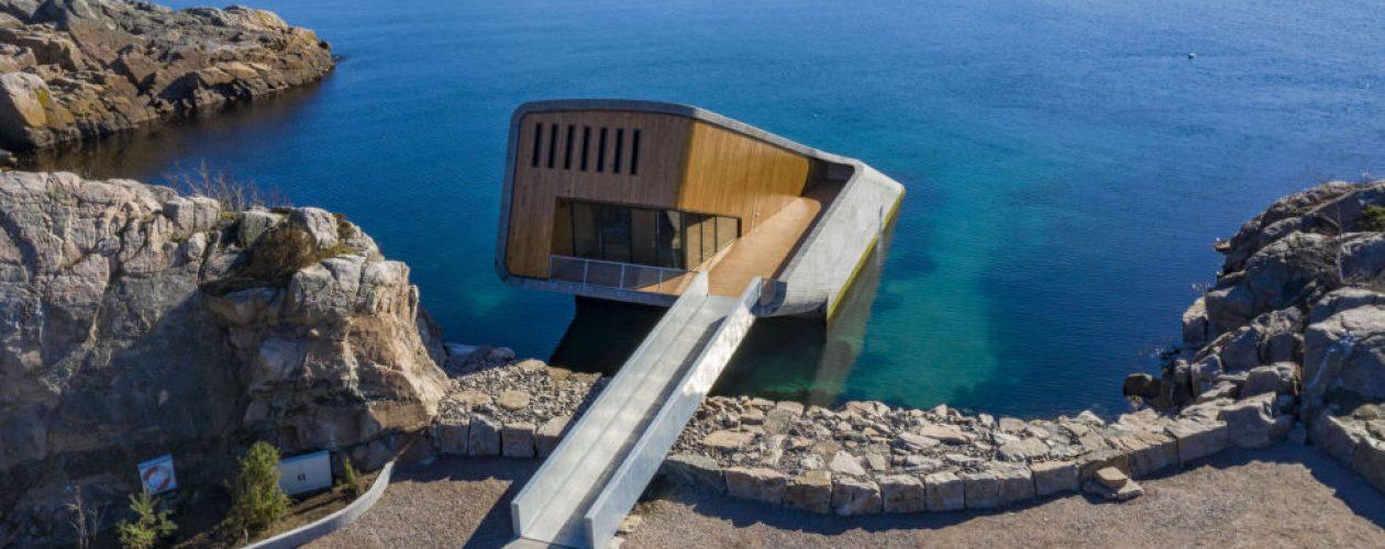 Pierwsza podwodna restauracja w Norwegii