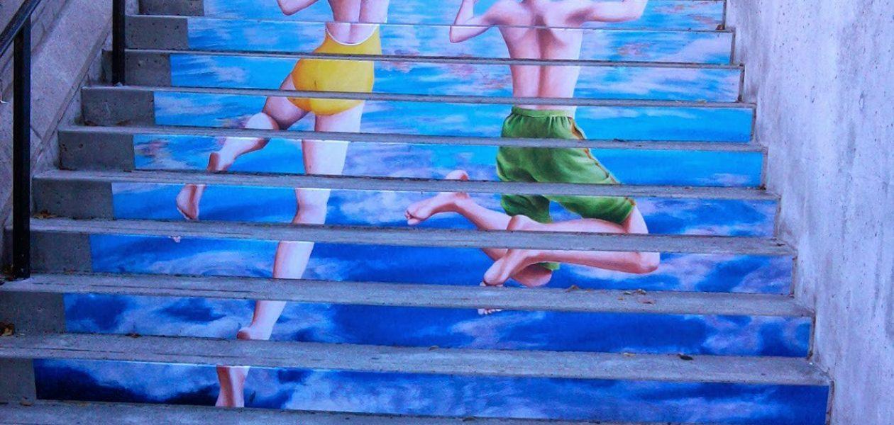 Sztuka na schodach