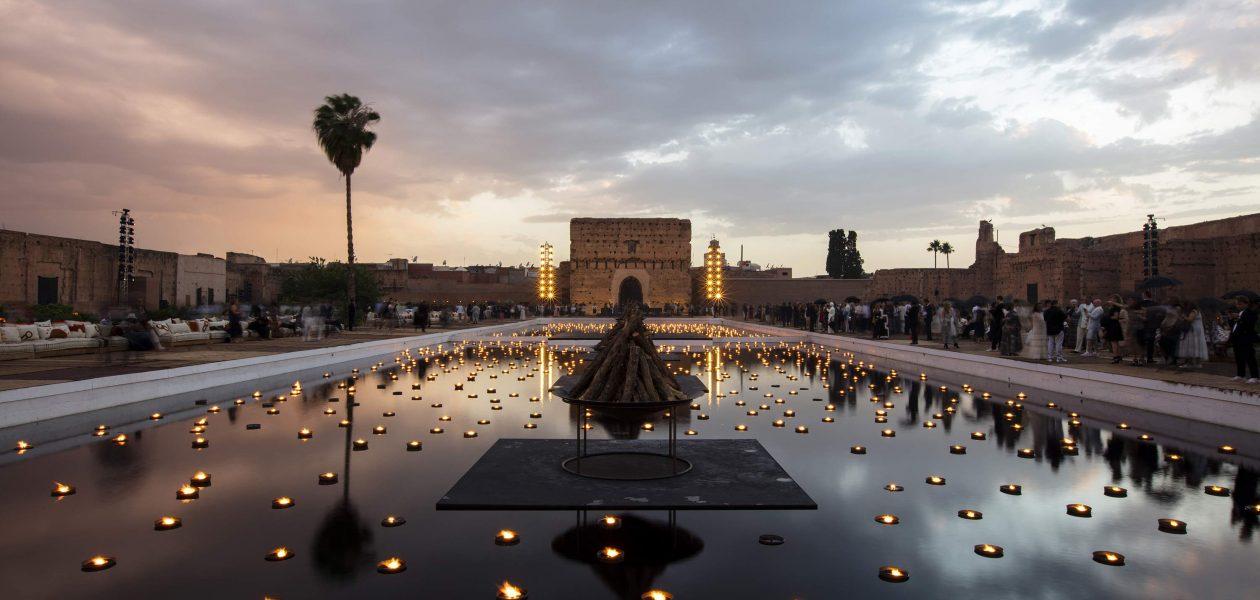 Pokaz domu mody Dior w ruinach pałacu w Marrakeszu!